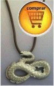 silver pendant snake