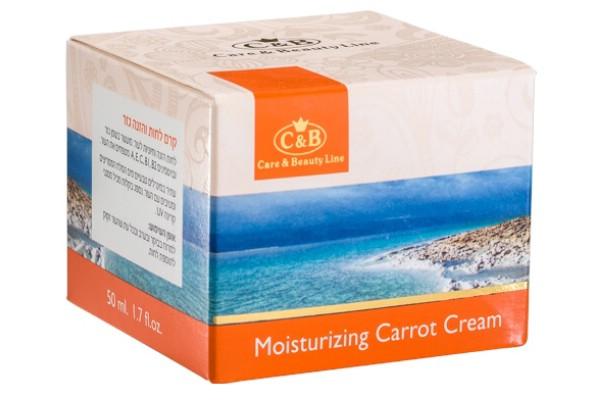 Увлажняющий питательный крем с морковным маслом