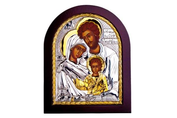Икона Святое Семейство 19х16 см