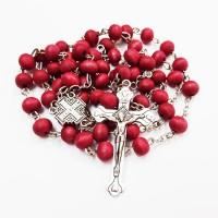 Четки из сандалового дерева с крестом
