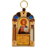 Благословение для дома с иконой Иисуса Христа 10 см
