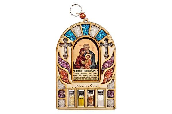 Оберег для дома Святое Семейство со святыми элементами
