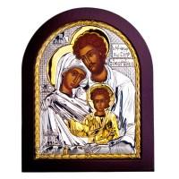 Икона Святое Семейство 9х7 см