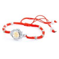 Красный браслет от сглаза Иерусалимский крест
