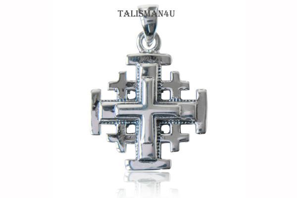Иерусалимский Крест Паломника Серебряный