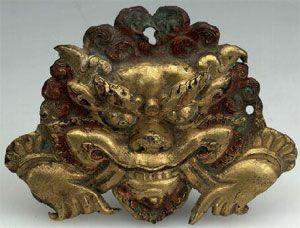 Kirtimukha deidad budista