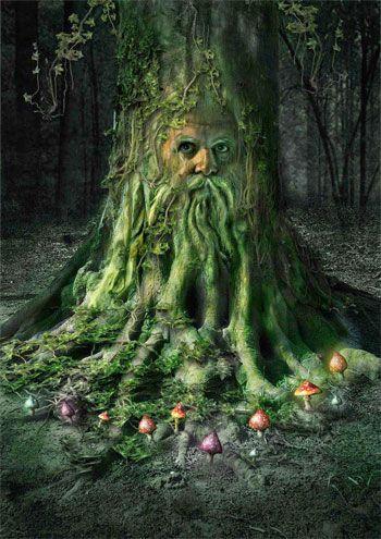 greenman mágico símbolo
