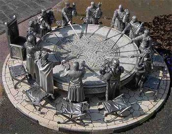 Arturo y los caballeros de la mesa redonda