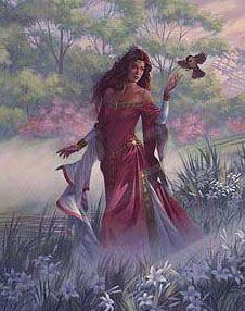 Cliodhna leyenda de los pájaros de Cliodhna