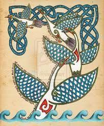 cisne en las leyendas celta