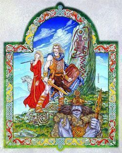 celtic hero fionn