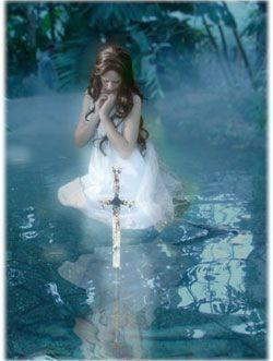 dama del lago espada excalibur