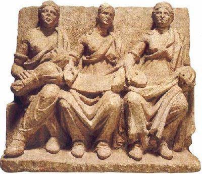 tres madres, matronas roma