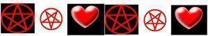 cenefa wicca celta amor