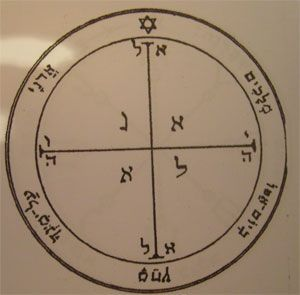 fourth pentacle talisman of Mars seal of Salomon