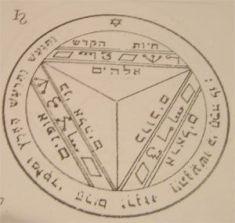 seventh talisman pentacle of saturn seal of salomon