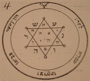 second pentacle talisman of Jupiter seal of Salomon