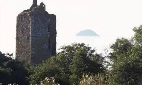 Lendalfoot Escocia, castillo