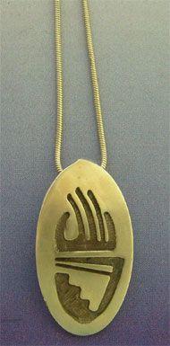 colgante garra oso huella garra amuleto colgante de plata