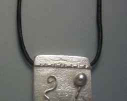 colgante kin maya tierra kin kaban colgante plata