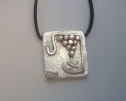 colgante maya kin sello tormenta kin cauac zodiaco plata