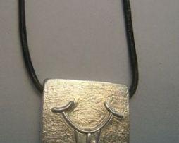 colgante kin zodiaco maya viento plata