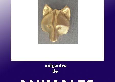 colgantes de plata o de oro de animales de todo tipo