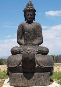 Buda encima de una tortuga