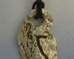 colgante runa vikinga Eiwaz amuleto vikingo colgante plata