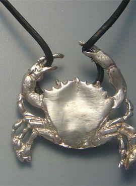 colgante cangrejo colgante de palta que trepa por cordón cuero
