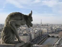 gárgola de la catedral de Notre Dame en París