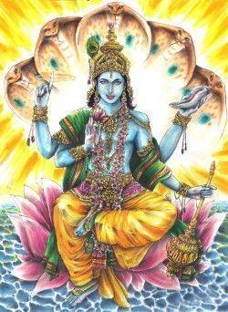 Vishnú dios hinduista