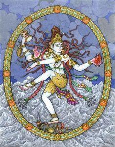shiva danza dios hindú