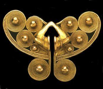 Original pieza nairona de la que es réplica y que se haya en el museo del oro de Bogotá