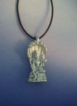 colgante Visnú dios hindú de plata