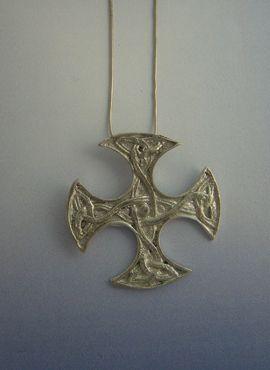 colgante cruz celta escoesa de Clackham