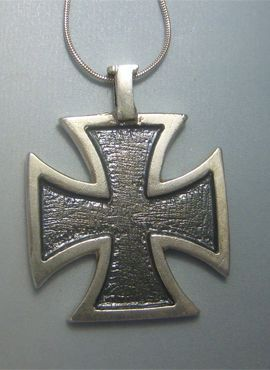 cruz templaria plata