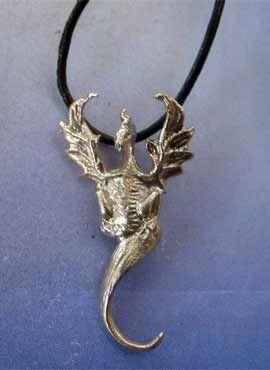 colgante dragón del aire de plata Henham
