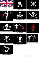 banderas piratas más famosas