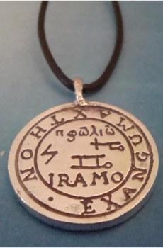 talismán astrolólgico de Paracelso Géminis