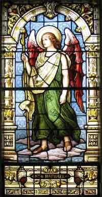 ángel Rafael representante jerárquico de las virtudes