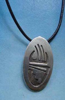amuleto garra oso plata