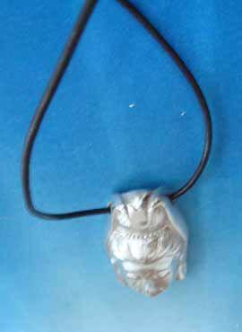 joya Quan Yin Kwan Yin Guan Yin Guanyin colgante plata