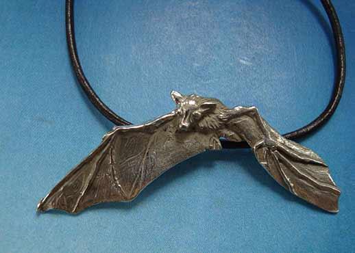 murciélago de plata de ley