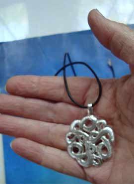 ouroboros uroboros colgante de plata serpientes
