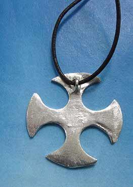 colgante cruz celta clackham dorsal
