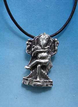 colgante Ganesha dios elefante danza