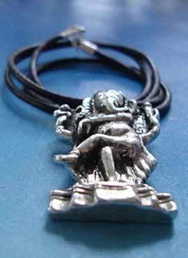 collar del dios ganesha elefante hindu plata