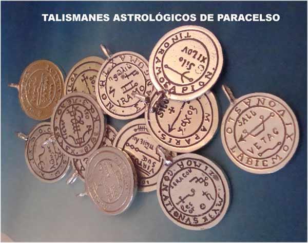 talismanes astrológicos de Paracelso