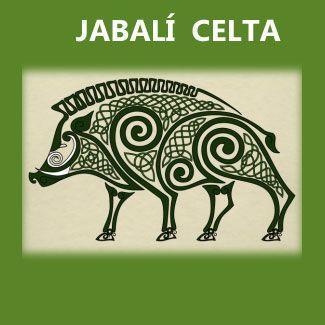 símbolos celtas: Jabalí celta